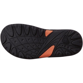 Sandały dla dzieci Kappa Pure K Footwear Kids zielono-pomarańczowe 260594K 3144 zielone 3