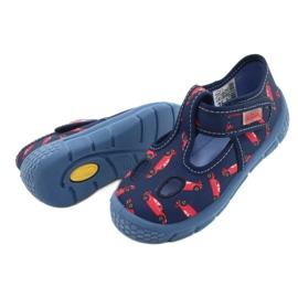 Befado  obuwie dziecięce  533P012 czerwone granatowe niebieskie 4
