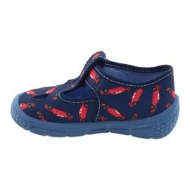 Befado  obuwie dziecięce  533P012 czerwone granatowe niebieskie 2