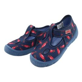 Befado  obuwie dziecięce  533P012 czerwone granatowe niebieskie 3