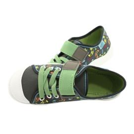 Befado obuwie dziecięce  251Y164 szare wielokolorowe zielone 6