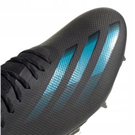 Buty piłkarskie adidas X Ghosted.1 Fg M EG8255 czarne czarne 3