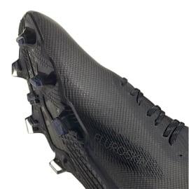 Buty piłkarskie adidas X Ghosted.1 Fg M EG8255 czarne czarne 4