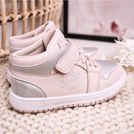 Apawwa Dziecięce Sportowe Buty Różowo Srebrne Madison różowe srebrny 5