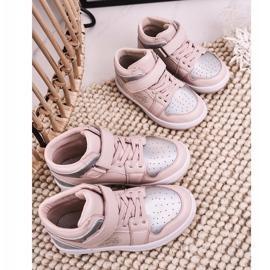 Apawwa Dziecięce Sportowe Buty Różowo Srebrne Madison różowe srebrny 1