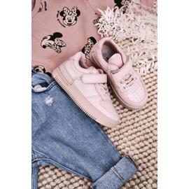 Apawwa Dziecięce Sportowe Buty Na Rzep Różowe Airy 1