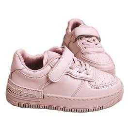 Apawwa Dziecięce Sportowe Buty Na Rzep Różowe Airy 3
