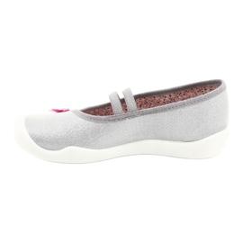 Befado obuwie dziecięce 116Y288 różowe szare wielokolorowe 2