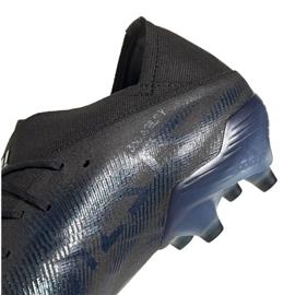 Buty piłkarskie adidas Nemeziz 19.1 Fg M FW7422 wielokolorowe czarne 2