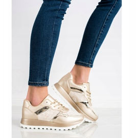 Bestelle Stylowe Sneakersy beżowy 2