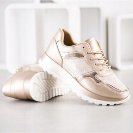 Bestelle Stylowe Sneakersy beżowy 3