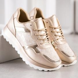 Bestelle Stylowe Sneakersy beżowy 4