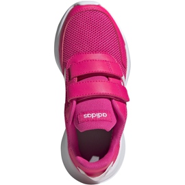 Buty dla dzieci adidas Tensaur Run C różowe EG4145 1