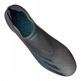 Buty piłkarskie adidas X Ghosted+ M Fg EG8246 wielokolorowe szare 2