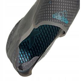 Buty piłkarskie adidas X Ghosted+ M Fg EG8246 wielokolorowe szare 4