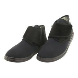 Befado obuwie damskie pu  522D002 czarne 3