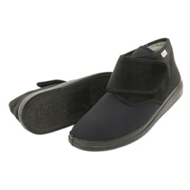 Befado obuwie damskie pu  522D002 czarne 4