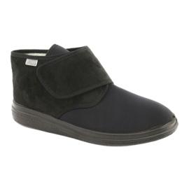 Befado obuwie damskie pu  522D002 czarne 1