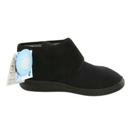 Befado obuwie damskie pu  522D002 czarne 5