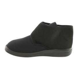 Befado obuwie damskie pu  522D002 czarne 2