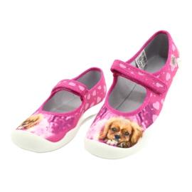Befado obuwie dziecięce 114Y438 różowe 3