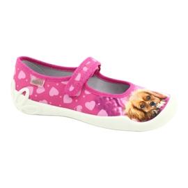 Befado obuwie dziecięce 114Y438 różowe 1