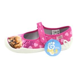 Befado obuwie dziecięce 114Y438 różowe 4