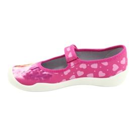 Befado obuwie dziecięce 114Y438 różowe 2