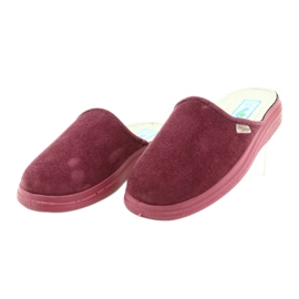 Befado obuwie damskie  pu 132D011 czerwone 2