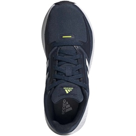 Buty dla dzieci adidas Runfalcon 2.0 K granatowe FY9498 białe 1
