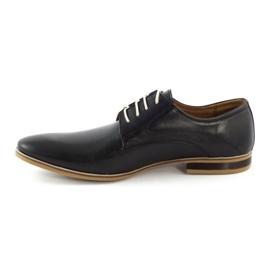 Buty wizytowe męskie 579 czarne 1