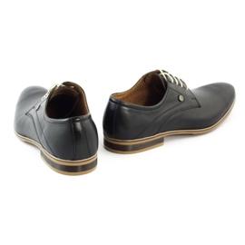 Buty wizytowe męskie 579 czarne 4