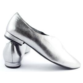 Exousite Lordsy damskie 974 srebrne srebrny 4
