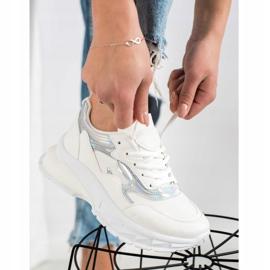Sweet Shoes Stylowe Białe Sneakersy 1
