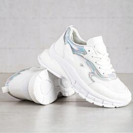 Sweet Shoes Stylowe Białe Sneakersy 2