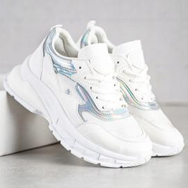 Sweet Shoes Stylowe Białe Sneakersy 3