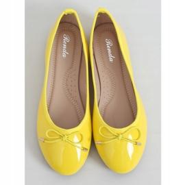 Baleriny neonowe żółte DY-01 Yellow 1
