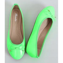 Baleriny neonowe zielone DY-01 Green 1