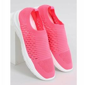 Buty sportowe skarpetkowe różowe 9862 Fushia 3