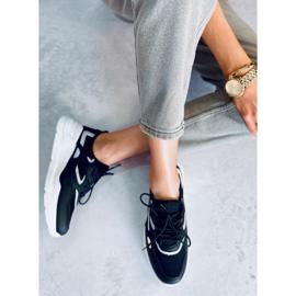 Buty sportowe czarne B0-560 Black 3