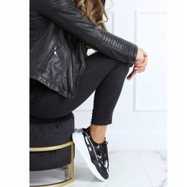 Buty sportowe czarne B0-560 Black 2