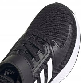 Buty adidas Runfalcon 2.0 Jr FZ0113 czarne 3