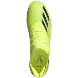 Buty piłkarskie adidas X Ghosted.1 Fg M FW6898 zielone zielony, żółty, neon 1
