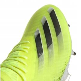 Buty piłkarskie adidas X Ghosted.1 Fg M FW6898 zielone zielony, żółty, neon 3