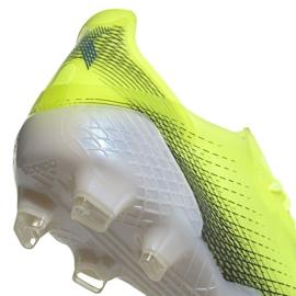 Buty piłkarskie adidas X Ghosted.1 Fg M FW6898 zielone zielony, żółty, neon 4