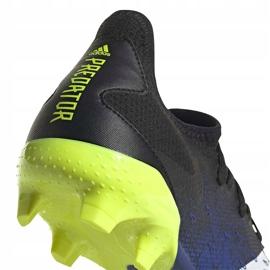 Buty piłkarskie adidas Predator Freak.3 L Fg granatowo-czarno-zielone FY0615 czarne czarne 5