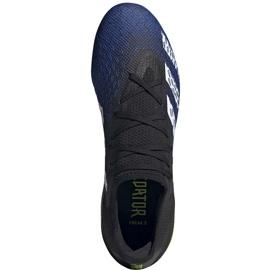Buty piłkarskie adidas Predator Freak.3 L Fg granatowo-czarno-zielone FY0615 czarne czarne 2