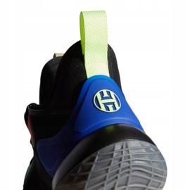 Buty adidas Harden Stepback 2 M FZ1069 czarne wielokolorowe 2
