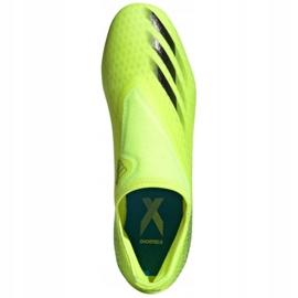 Buty piłkarskie adidas X Ghosted.3 Ll Fg M FW6969 żółte wielokolorowe 2