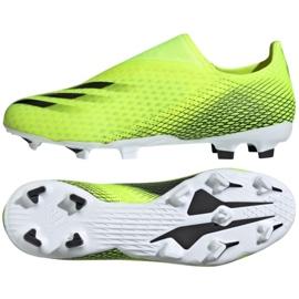 Buty piłkarskie adidas X Ghosted.3 Ll Fg M FW6969 żółte wielokolorowe 3